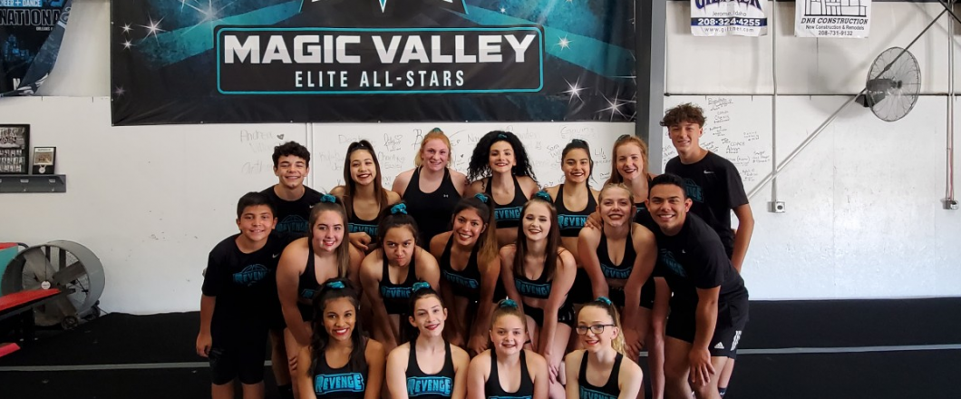 competitive cheerleading within the Twin Falls, ID
